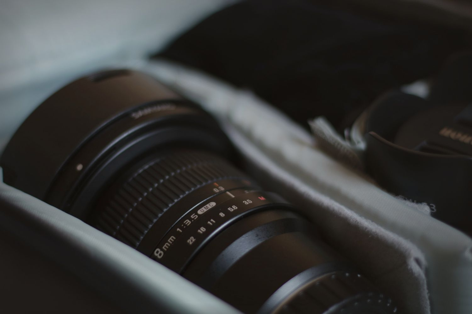 With different lenses you can take a whole new array of photos