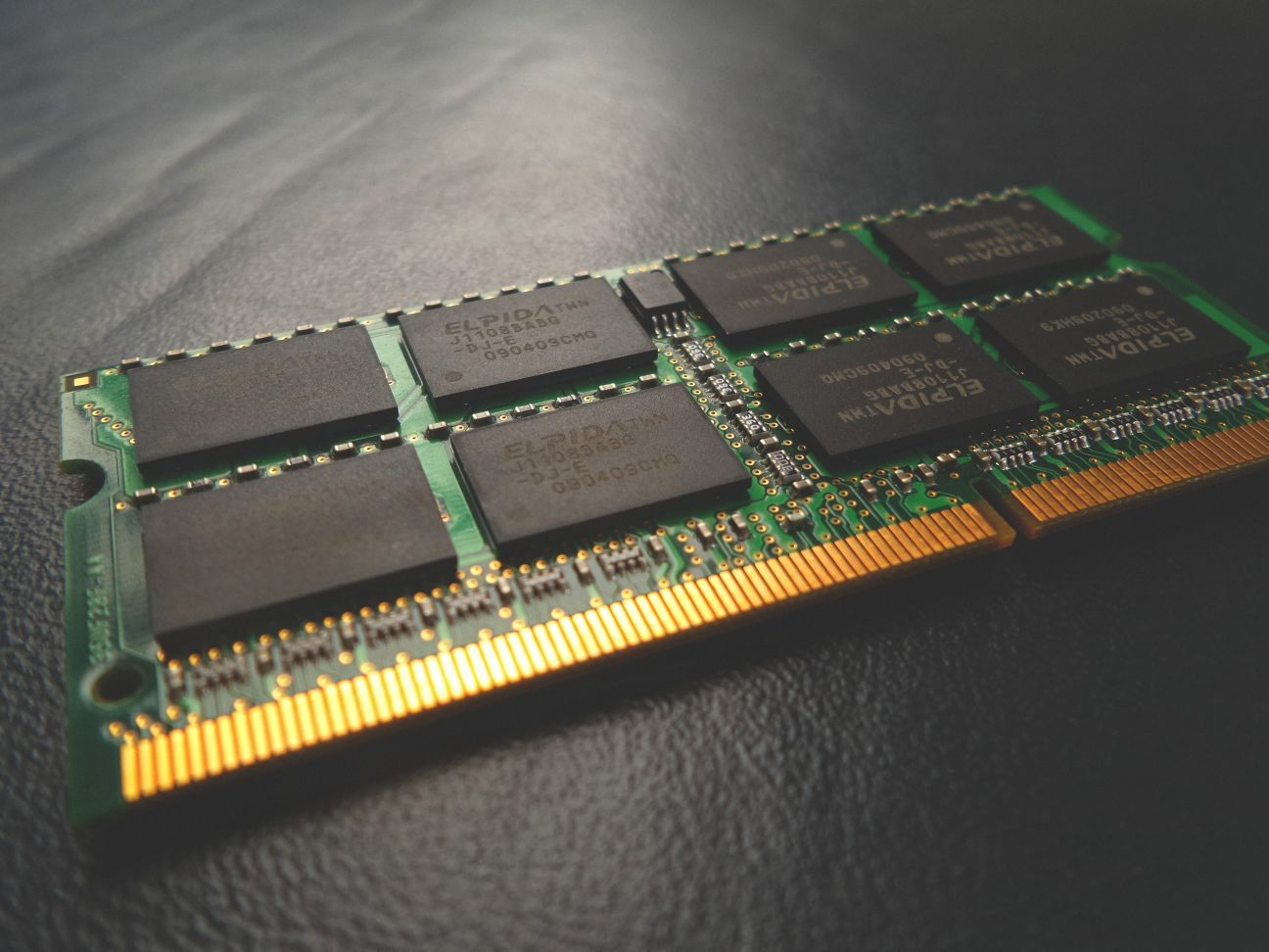 RAM is used for temporary storage of data